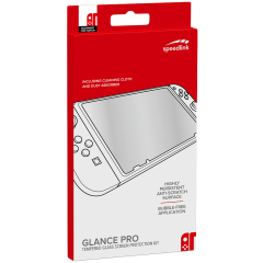 Speedlink GLANCE PRO Tempered Glass Protection Kit - for Nintendo Switch
