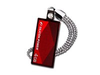 SILICON POWER 4GB USB 2.0 Touch 810 Red