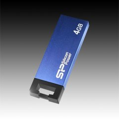 SILICON POWER 4GB USB 2.0 Touch 835 Blue