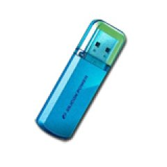 Silicon Power USB 2.0 drive HELIOS 101 8GB Ocean Blue