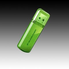 Silicon Power USB 2.0 drive HELIOS 101 8GB Apple Green