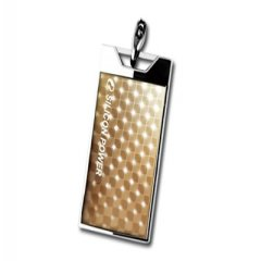 SILICON POWER 8GB USB 2.0 Touch 851 Gold