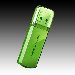 Silicon Power USB 2.0 drive HELIOS 101 16GB Apple Green