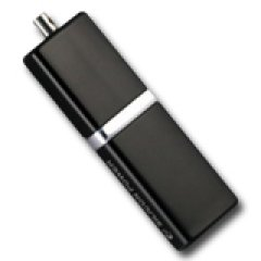 SILICON POWER 16GB USB 2.0 LuxMini 710 Черен