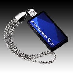 SILICON POWER 16GB USB 2.0 Touch 810 Blue