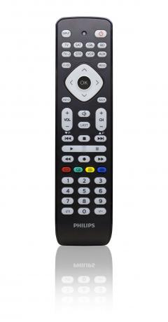 PHILIPS Universal remote control 8 in 1 - Universal IR database: TV