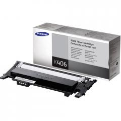 Консуматив Samsung CLT-K406S Black Toner Cartridge (up to 1 500 A4 Pages at 5% coverage)*