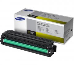 Консуматив Samsung CLT-Y504S Yellow Toner Cartridge (up to 1 800 A4 Pages at 5% coverage)*