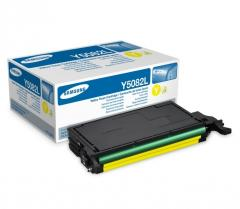 Консуматив Samsung CLT-Y5082L H-Yld Yel Toner Crtg (up to 4 000 A4 Pages at 5% coverage)*