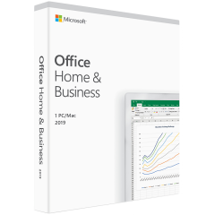 Microsoft Office Home and Business 2019 English EuroZone Medialess
