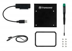 Transcend SSD Conversion Kit (Шейна) 2.5 to 3.5 case SATA/USB 3.0