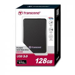 Transcend 128GB External SSD 400K