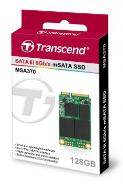Твърд  диск Transcend 128GB mSATA(50.8 X 29.85mm) SSD SATA3