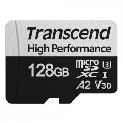 Transcend 128GB microSD with adapter UHS-I U3 A2