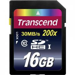 Transcend 16GB SDHC (Class 10)