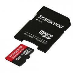 Transcend 16GB micro SDHC UHS-I Premium (with adapter