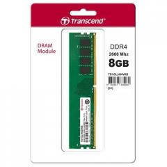 Transcend 8GB 288pin U-DIMM DDR4 2400 1Rx8 1Gx8 CL17 1.2V