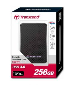 Transcend 256GB External SSD 400K
