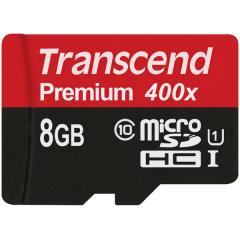 Transcend 8GB micro SDHC UHS-I Premium (No Box & Adapter