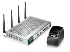 ZyXEL UAG2100 Unified Access Gateway: Wireless Dual Radio (802.11 a/b/g/n) HotSpot solution with