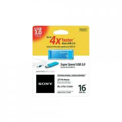 Sony New microvault 16GB Click blue USB 3.0
