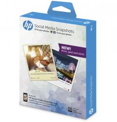 Хартия HP Social Media Snapshots 25 sheets 10x13cm self adhesive