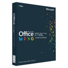 Office Mac Home Business 1PK 2011 English Eurozone Medialess