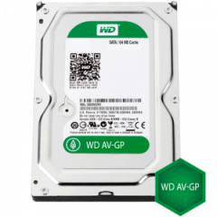 HDD 3TB SATAIII WD AV 7200rpm 64MB for DVR/Surveillance (3 years warranty)