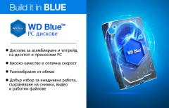 SSHD 4TB + 8GB WD Blue SSHD 3.5 SATAIII 64MB (3 years warranty)