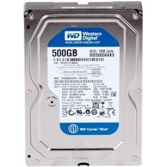 HDD 500GB WD Blue 3.5 SATAIII 16MB