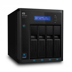 HDD 8TB LAN 1000Mbps NAS MyCloud EX4100 4-bay (2 x 4TB WD Red) 2xGigabit + 3xUSB 3.0 (up to 32TB)