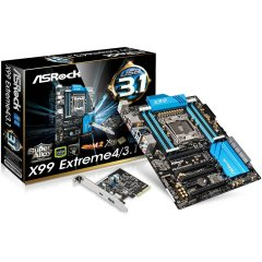 ASROCK Main Board Desktop iX99 (S2011