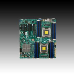 MB Server 2xSocket-2011 SUPERMICRO X9DRi-F iC602 (Extended ATX