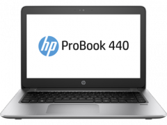 HP ProBook 440 G4 Intel Core i5-7200U (2.5 GHz up to 3.1 GHz with Turbo Frequency 3MB Cache 2 cores)