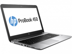 HP ProBook 450 G4 Intel® Core  i3-7100U 4 GB DDR4-2133 SDRAM (1 x 4 GB) 500 GB 7200 rpm SATA DVD/RW