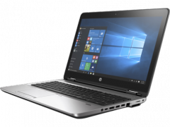HP ProBook 650 G3+90 W adapter Intel Quad Core i7-7820HQ  (2.9 GHz to 3.9 GHz